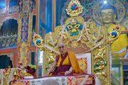 Учения в монастыре Ганден