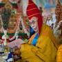 Далай-лама даровал посвящение Хаягривы в монастыре Сера Чже