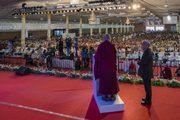 Празднование юбилея старшей школы «Сешадрипурам»