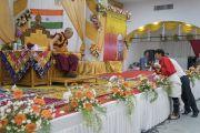 Дээрхийн Гэгээнтэн Далай Лам Бангалор хот дахь төвөд иргэдтэй уулзлаа