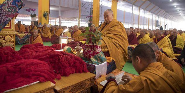 Подготовка к посвящениям в Бодхгае