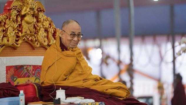 Далай-лама начал учения по «Алмазной сутре»