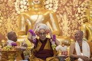Лекция для школьников и открытие храма в Бодхгае