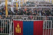 Буддисты из Монголии во время учений Его Святейшества Далай-ламы, на которые собралось более 30 000 верующих. Бодхгая, штат Бихар, Индия. 14 января 2018 г. Фото: Лобсанг Церинг.