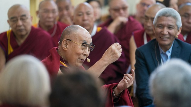 В Дхарамсале состоялся второй день диалога Далай-ламы с учеными под эгидой института «Ум и жизнь»