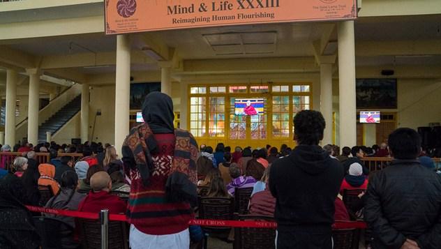 Четвертый день диалога Далай-ламы с учеными