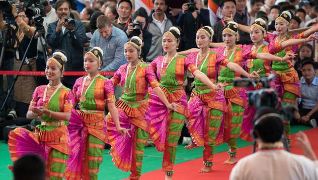 Далай-лама принял участие в торжестве «Спасибо, Индия»