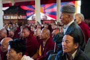 Гости торжественной церемонии «Спасибо, Индия», организованной в главном тибетском храме. Дхарамсала, Индия. 31 марта 2018 г. Фото: Тензин Чойджор.