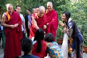 Встреча с буддистами из Вьетнама