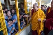 Учения для тибетской молодежи