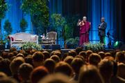 Встреча со сторонниками Тибета и публичная лекция в Вильнюсе