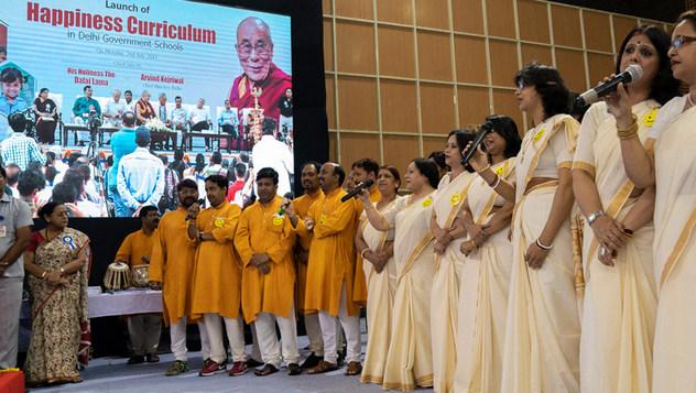 Запуск программы «Счастье» для школ Дели