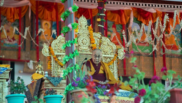 Далай-лама начал учения, приуроченные к Великим летним диспутам