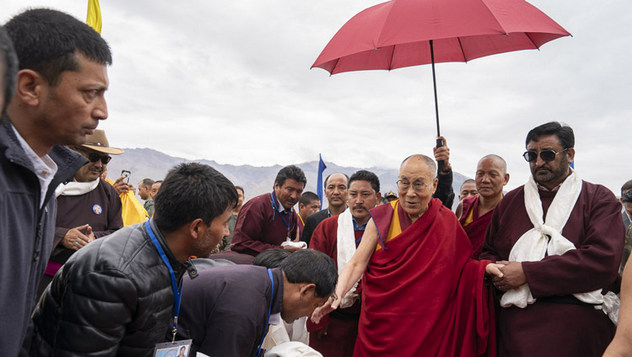 Далай-лама прибыл в Занскар