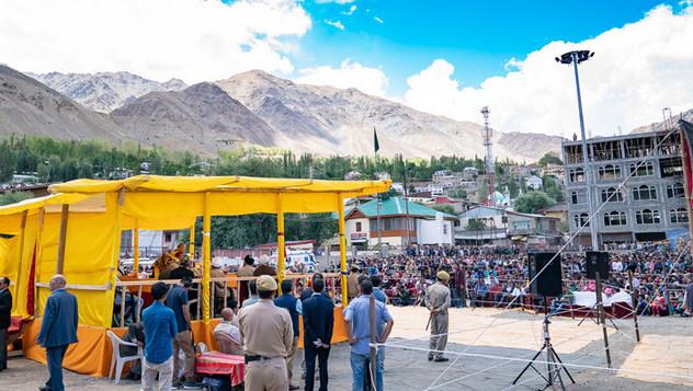 Далай-лама встретился с жителями Каргила