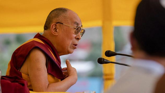 Дээрхийн Гэгээнтэн Далай Лам Каргилд цугласан олонд хандаж үг хэллээ