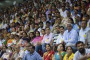 Некоторые из более чем 5000 учителей, собравшихся на церемонии запуска учебной программы «Счастье» для школ Дели. Нью-Дели, Индия. 2 июля 2018 г. Фото: Тензин Чойджор.