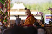Его Святейшество Далай-лама принимает участие в торжествах, организованных по случаю его 83-летия. Ле, Ладак, штат Джамму и Кашмир, Индия. 6 июля 2018 г. Фото: Тензин Чойджор.