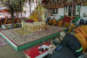 Его Святейшество Далай-лама дарует посвящение долгой жизни в монастыре Самстанлинг. Сумур, Ладак, штат Джамму и Кашмир, Индия. 17 июля 2018 г. Фото: Тензин Чойджор.
