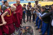 Встреча с тибетцами в Ле
