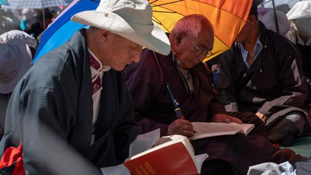 Учения в Ле завершились посвящением долгой жизни