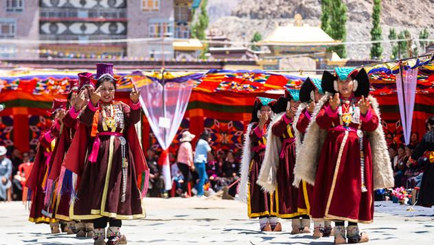 Далай-лама принял участие в торжественном открытии общественного парка в Джума Багх