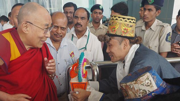 Дээрхийн Гэгээнтэн Далай Лам Гоа-д морилон ирлээ