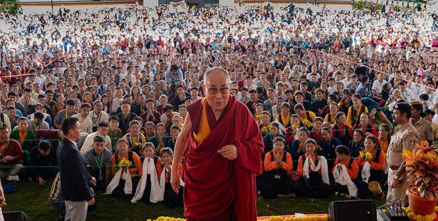 Визит в Институт высшего образования под эгидой Далай-ламы