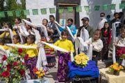 Лех дэх Төвөдийн дунд сургуулийн сурагч хүүхдүүд болон төвөд иргэдтэй уулзлаа