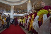 Дээрхийн Гэгээнтэн Далай Лам Бангалор хотод хүрэлцэн ирлээ
