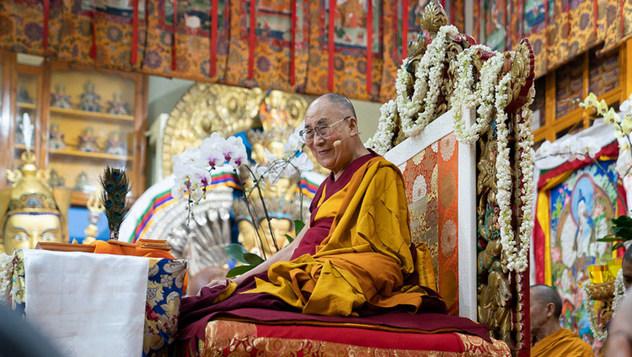 В Дхарамсале прошел третий день учений Далай-ламы