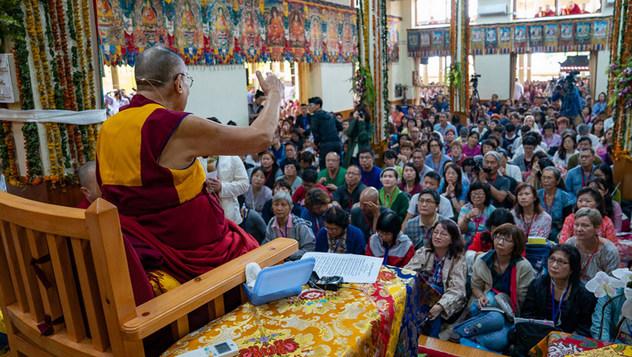 O заключительном дне учений Далай-ламы для буддистов из Восточной и Юго-Восточной Азии