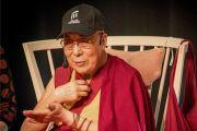 Дээрхийн Гэгээнтэн Далай Лам Малмогийн их сургуулийн оюутнуудад илтгэл тавив. Швейд, Малмо. 2018.09.13. Гэрэл зургийг Жереми Рассел